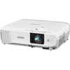 Epson PowerLite 107 Desktop Data Projector, 3LCD XGA (1024x768), 3500 Lumens, 15,000:1, White - V11H859020