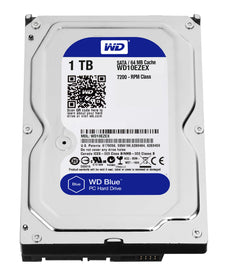Western Digital Blue HDD 1TB Serial ATA III hard disk drive WD10EZEX