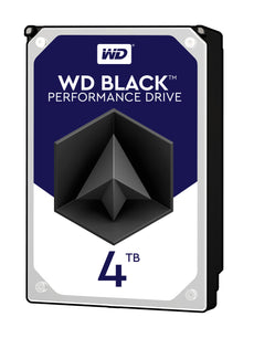 "Western Digital  Black WD4005FZBX 4 TB 3.5"" Internal Hard Drive - SATA"