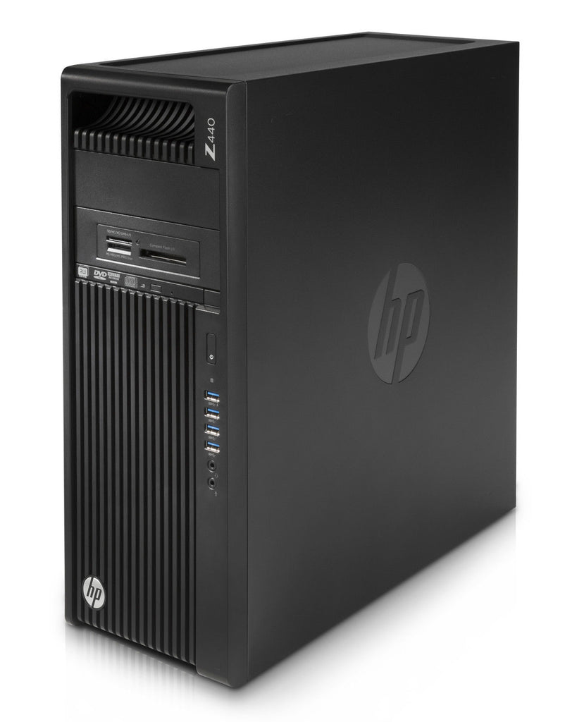 HP Z440 Business Workstation Tower Intel Xeon E5-1650 v4/X6C 3.60GHz 8GB RAM 256GB PCIe SSD Windows 10 Pro 4SV93U8#ABA