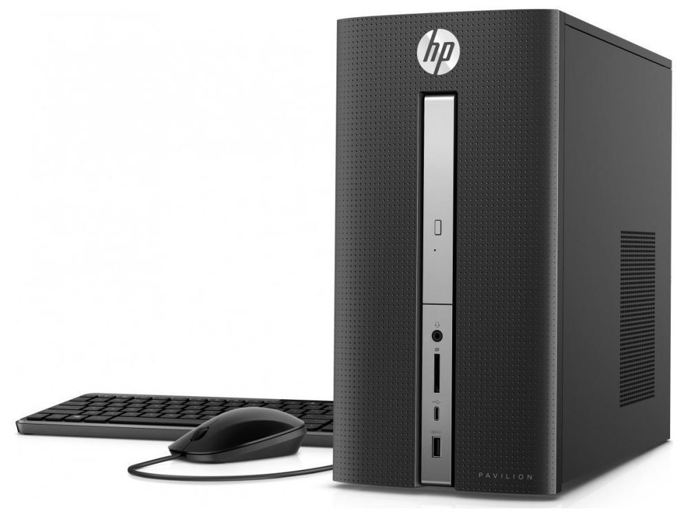 HP Pavilion 570-P057C Desktop PC MT Intel Core:i5 3.00GHz 8GB RAM 2TB SATA+16GB/SSD Windows 10 Home-64Bit Z5P15AA#ABA