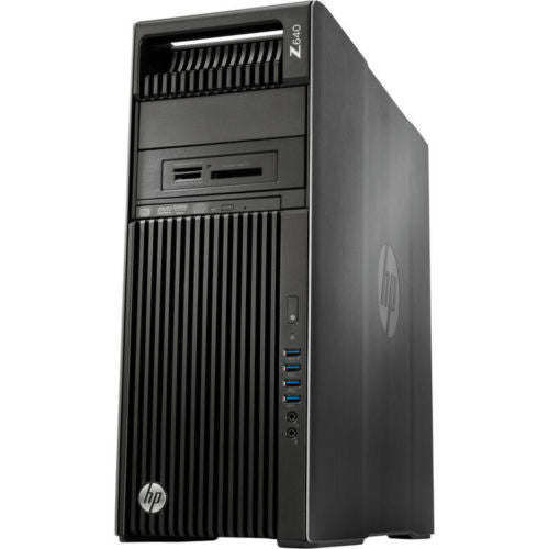 HP Z640 Business Workstation Tower Intel Xeon E5-2643 v3 3.40GHz 32GB 1TB SATA Windows 10 Pro