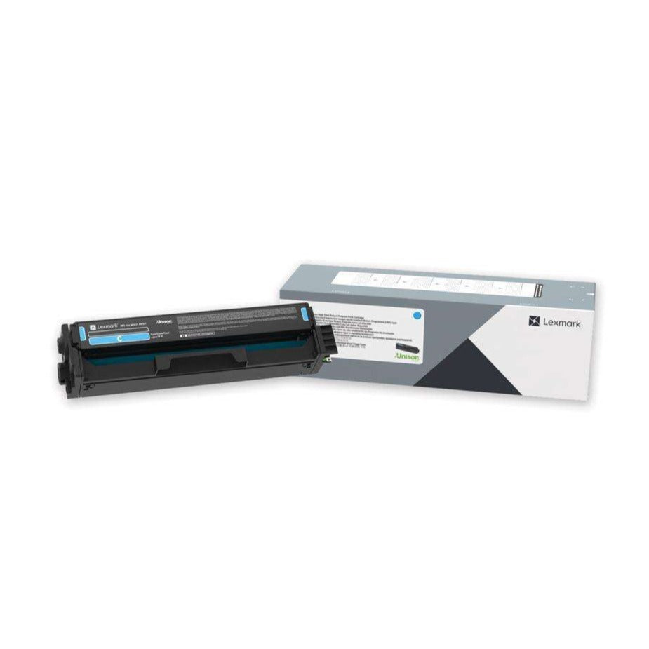 Lexmark Cyan Extra High Yield Print Cartridge, 4,500 Pages Yield - C340X20