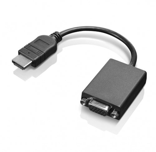 Lenovo ThinkPad HDMI to VGA Monitor Adapter, Male/Female Video Cable- 0B47069