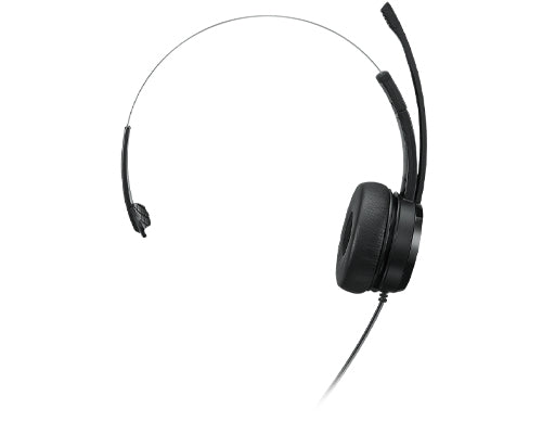 Lenovo 100 Mono USB Headset, Wired, USB 2.0, Adjustable Headband - 4XD1B61617