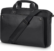"HP Executive 14.1"" Midnight Slim Case, Top-loading Sleeve Case for Notebooks, Double Handles, Shoulder Strap  - 1WM82AA"