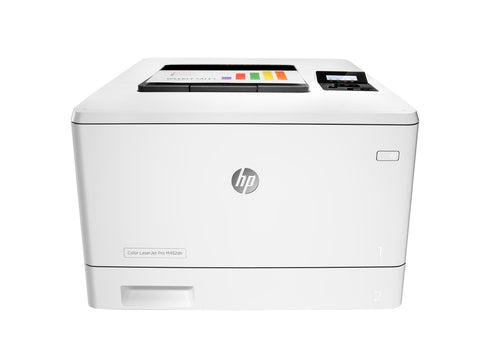 HP LaserJet Pro M452dn Printer, Color Laser Printer, 256MB Memory, 28 PPM, 600X600 DPI, USB- CF389A#BGJ