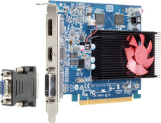 HP AMD Radeon R7 450 4GB Graphics Card, 4 GB GDDR5, PCI Express x16, DisplayPort, HDMI, DVI - Z9H52AA