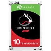 "Seagate IronWolf 10TB NAS Hard Drive, 256MB Cache, 7200 rpm, 3.5"" Internal HDD - ST10000VN0004"