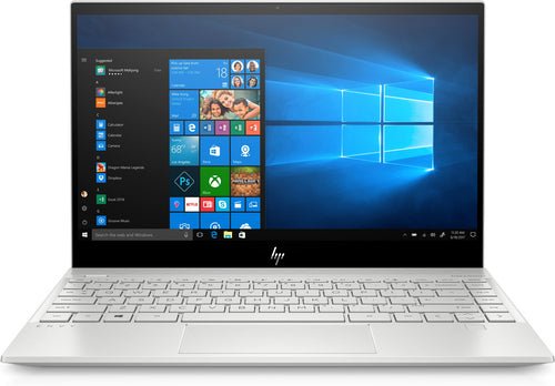 "HP Envy 13-aq0005nr 13.3"" FHD (Touchscreen) Notebook, Intel:i7-8565U, 1.80GHz, 8GB RAM, 256GB SSD, Windows 10 Home 64-Bit, Natural Silver- 6EH43UA#ABA"