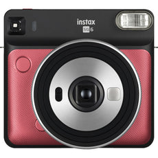 Fujifilm Instax SQUARE SQ6 Instant Camera, Instant Film, Ruby Red- 16608701