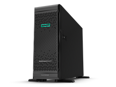 HPE ProLiant ML350 Gen10 Server, Intel Xeon Bronze 3204, 1.9 GHz, 8GB DDR4, 500 W, Tower (4U)  - P11048-001