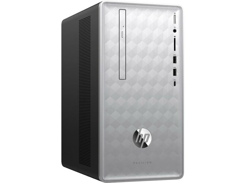HP Pavilion 590-p0067c Desktop PC, AMD:A12-9800, 3.80GHz, 8GB RAM, 2TB SATA, Windows 10 Home 64-Bit- 3LB81AA#ABA (Certified Refurbished)