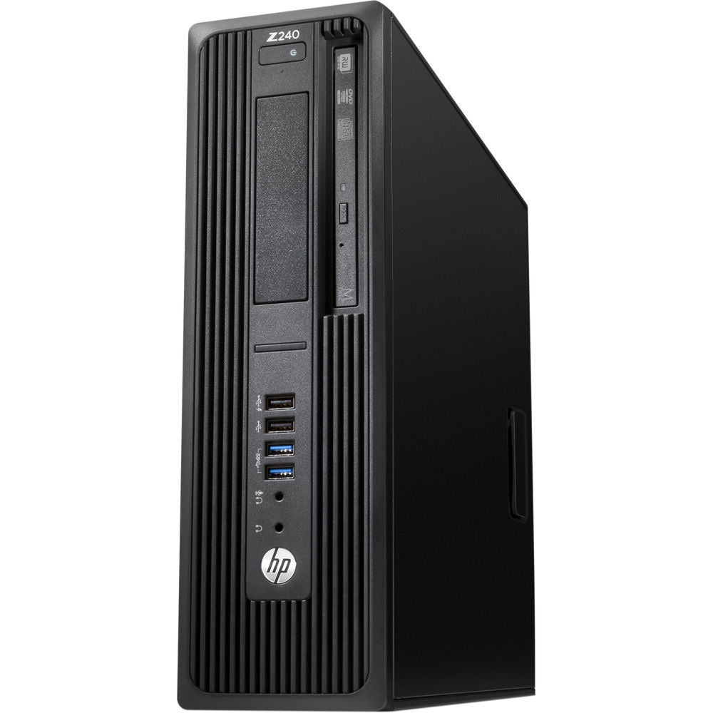 HP Z240 Business Workstation SFF Intel Core i7 3.40GHz 8GB RAM 1TB SATA Windows 10 Pro L9K66UT#ABA