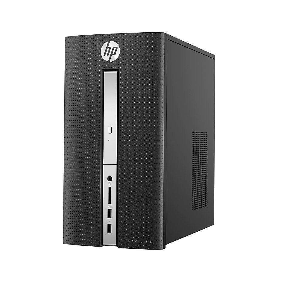 HP Pavilion 510-P017C Desktop PC MT AMD:A12-9800 3.80GHz 8GB RAM 2TB HDD Windows 10 Home + Office Home & Student 2019