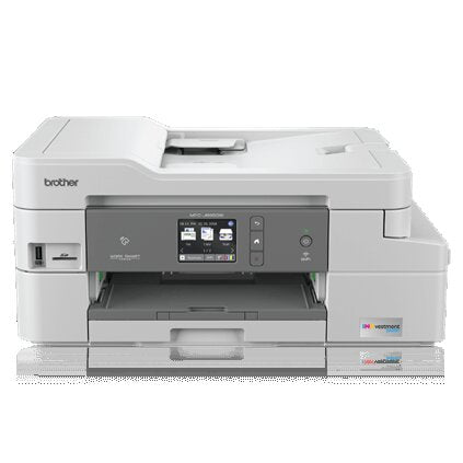 Brother MFC-J995DW INKvestment Tank Color Inkjet All-in-One Printer, 128MB Memory, Wireless, Ethernet, Color Touchscreen LCD Display, 1-Year of Ink In-box - MFC-J995dw