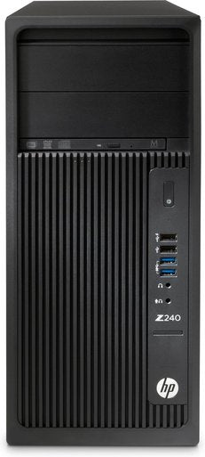 HP Z240 Tower Business Workstation, Intel Xeon E3-1225 v6, 3.30GHz, 8GB RAM, 2TB HDD SATA, Windows 10 Pro 64-Bit- 2VN32UT#ABA