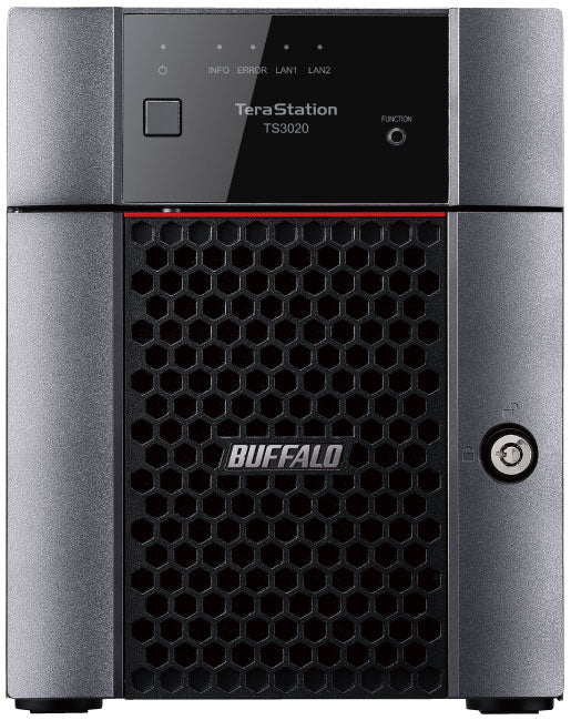 Buffalo TeraStation 3420DN 32TB 4-Bay Desktop NAS, Alpine AL214, 1.4GHz, 1GB RAM, 2xUSB 3.0 - TS3420DN3204