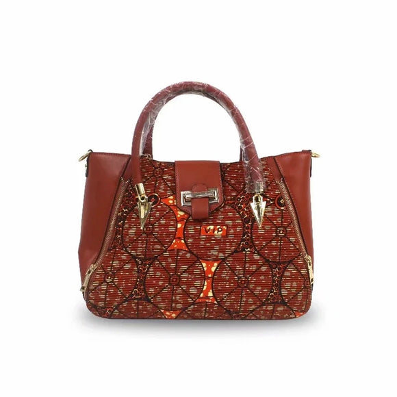 VIP Wax Print Handbag Set