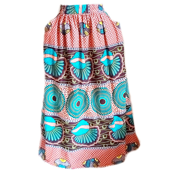 Mixed - Maxi Skirt with Pocket