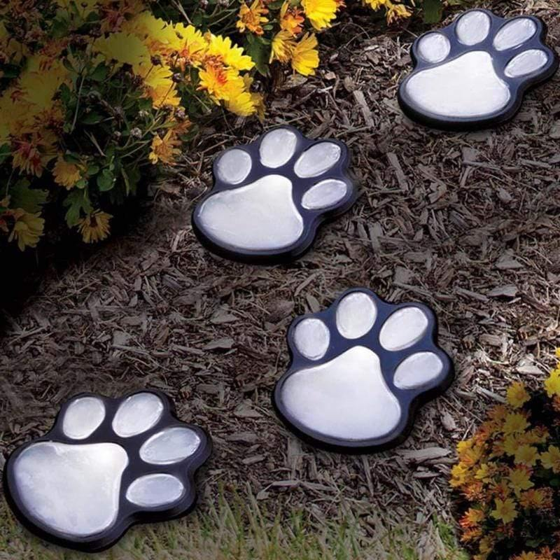 Solar Paw- LED Paw Lights - Emerald Seaside