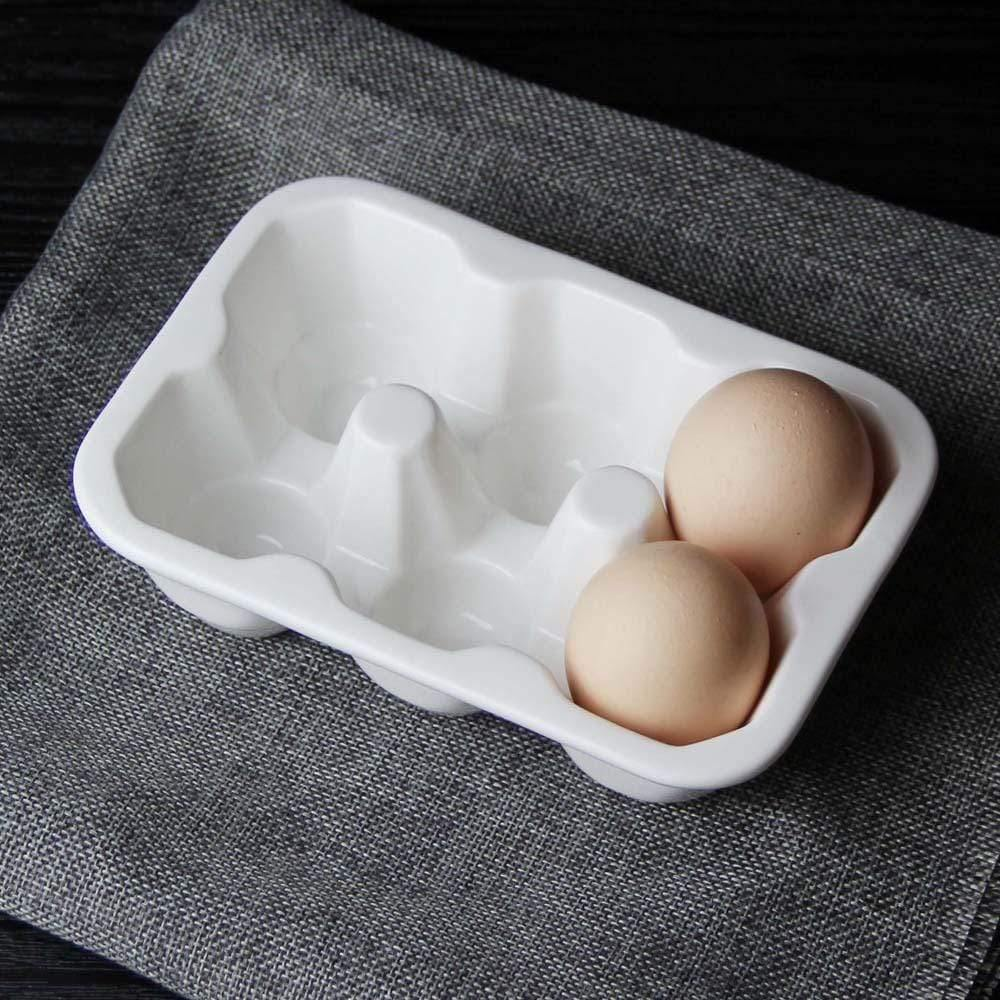 Ceramic Fresh Egg Tray - Emerald Seaside