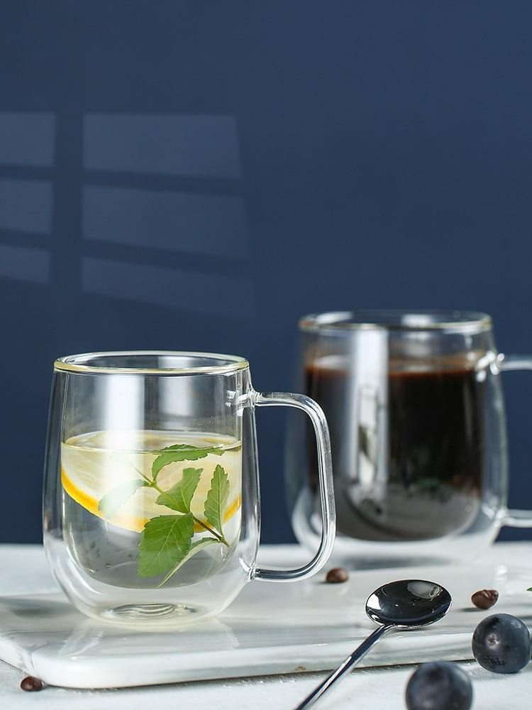 Double Walled Glass Coffee Cups