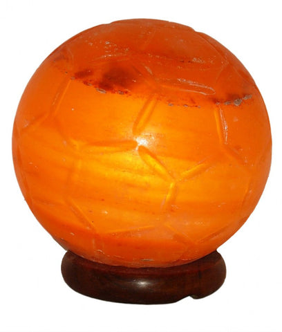 Salt Lamp - Soccer Ball Large