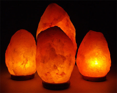 Salt Lamps - Family Pack 3