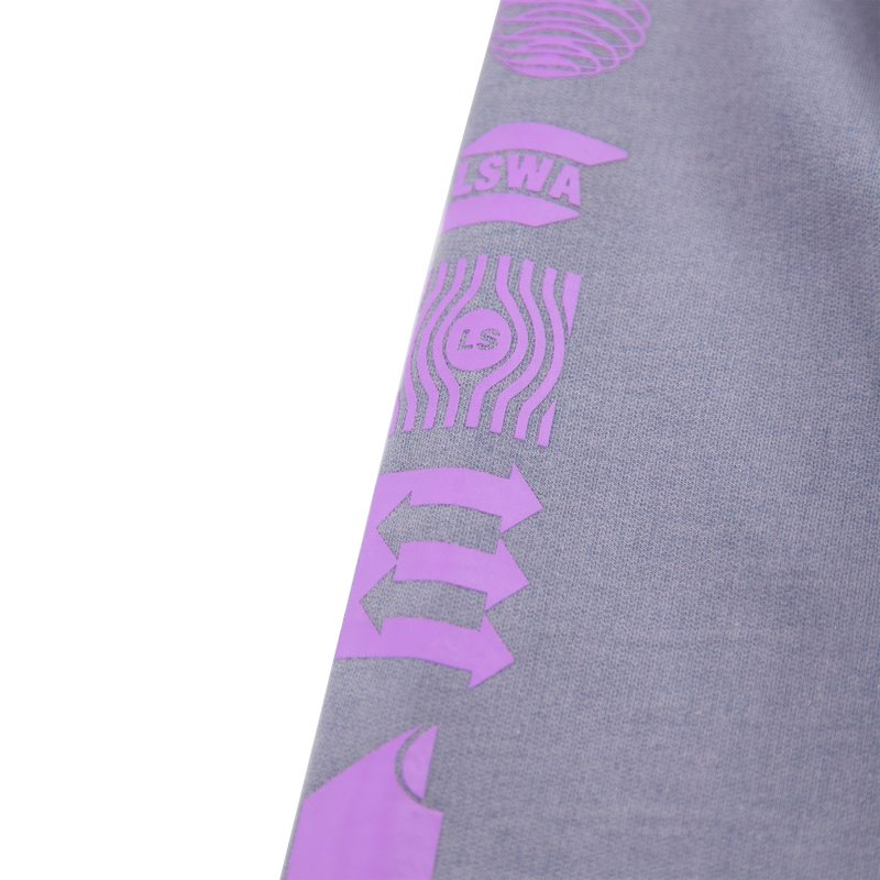 FACILITY GRAPHIC PURPLE HOODIE