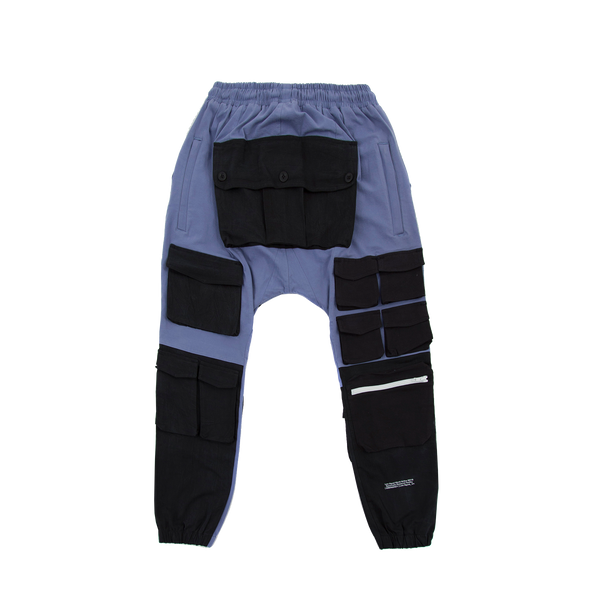Multi Pocket Purple Cargo pants