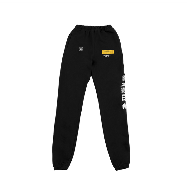 FACILITY BLACK SWEATPANTS