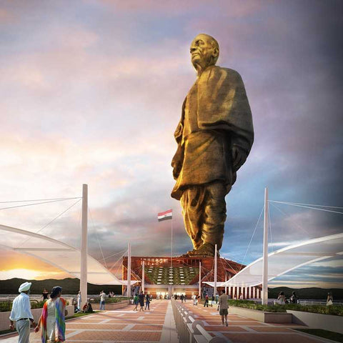 Statue-of-Unity-tour-packages-serendipity-holidays-hyderabad-telangana-India-