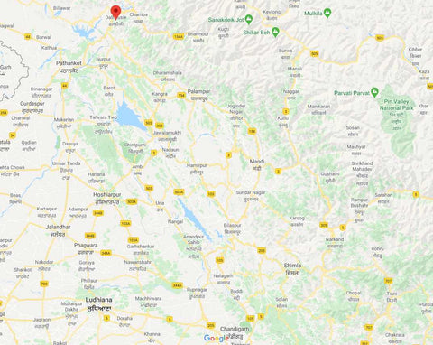 Where-is-Dalhousie-tourist-Map-www.serendipityholidays.in