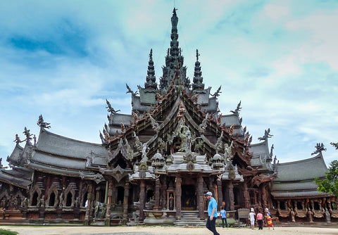 Sanctuary-Of-Truth-In-Pattaya-Thailand-Tour-Packages-To-Thailand-From-Hyderabad-Serendipity-Holidays-India