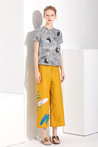 Mustard Trousers by Ja.Socha