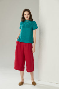 Dark Teal Top by Ja.Socha