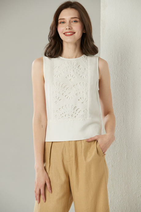 Delicate Pearl Top by Ja.Socha