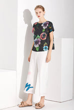 Load image into Gallery viewer, Night Bloom Top by Ja.Socha
