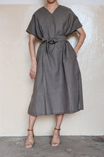 Load image into Gallery viewer, [NEW] Mud Green Square Dress by Tees & Scissors