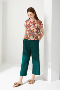 Batik Geometric Top by Ja.Socha