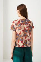 Load image into Gallery viewer, Batik Geometric Top by Ja.Socha