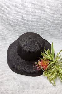 Lamp Shade Hat (Black) from Duy & Tâm