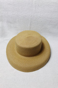 Lamp Shade Hat (Brown) from Duy & Tâm