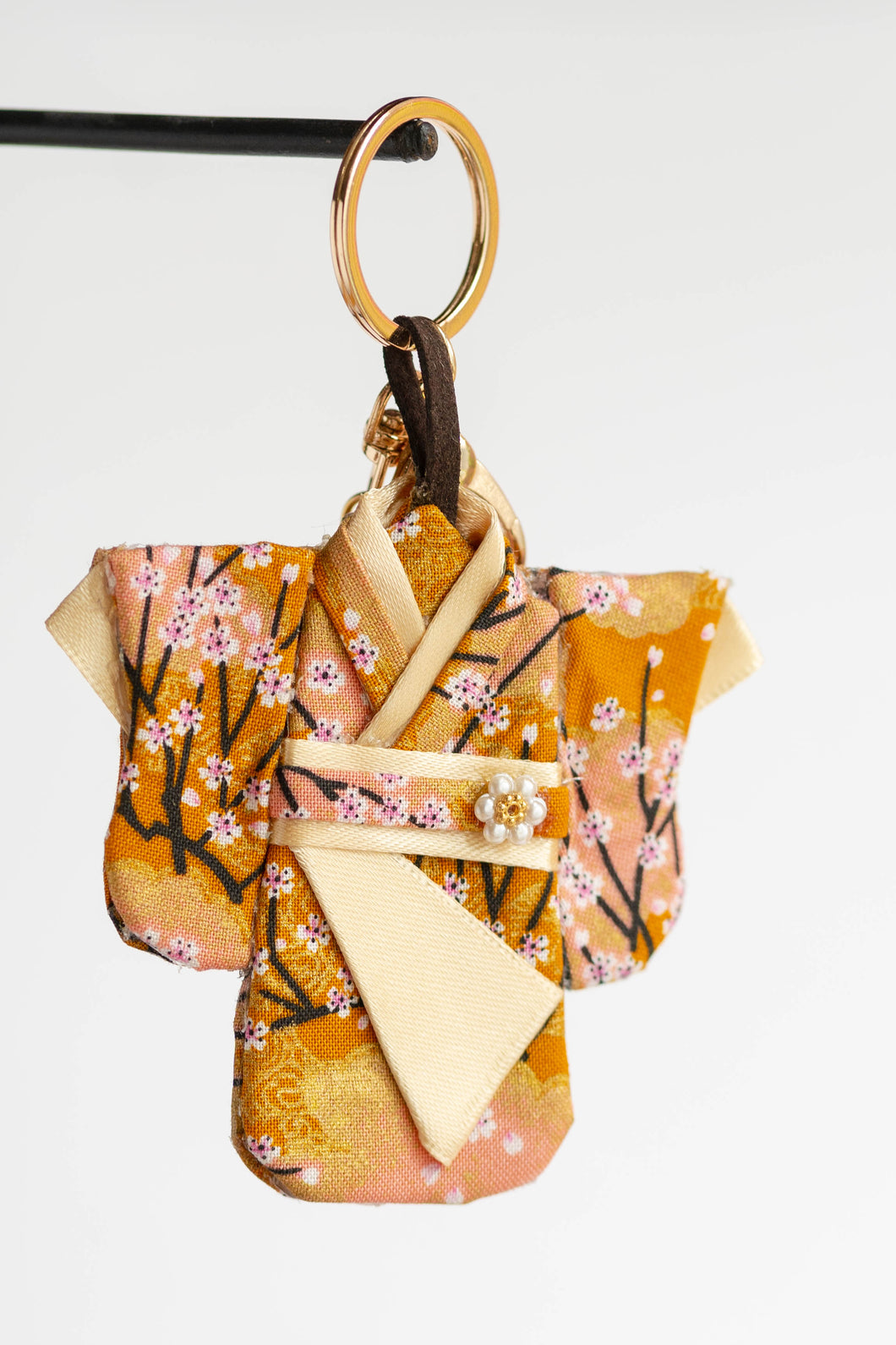Cherry Blossoms Kimono Keychain by Triple L S