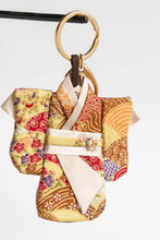 Load image into Gallery viewer, Beige Batik Kimono Keychain by Triple L S