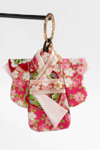 Load image into Gallery viewer, Flower Power Kimono Keychain by Triple L S