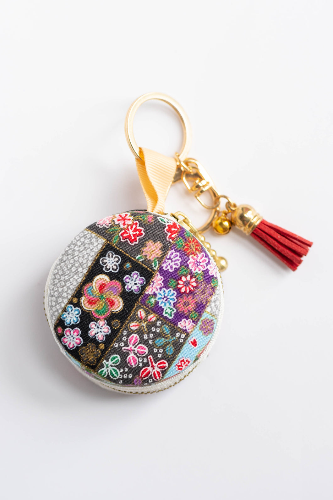 Flower Fields Macaron Pouch by Triple L S