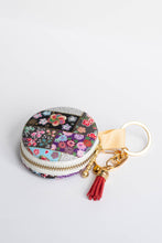 Load image into Gallery viewer, Flower Fields Macaron Pouch by Triple L S