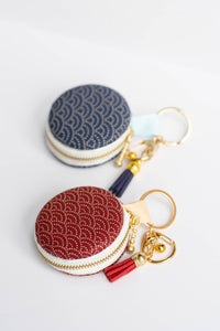 Waves Macaron Pouch by Triple L S
